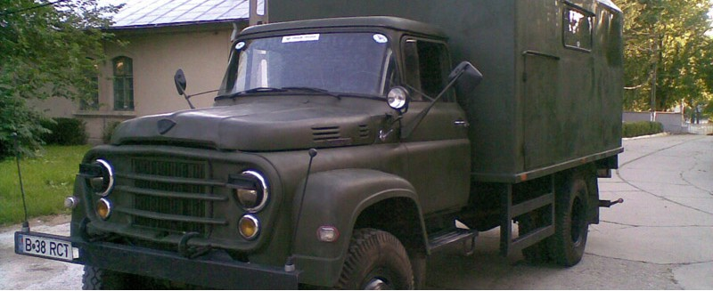 Electric Generator Truck SR-114 4x4 - 38 KVA - Military Version, 1972